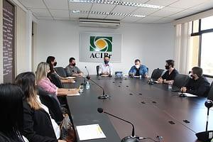Núcleo das Empresas Contábeis da ACIBr se reúne com vereadores