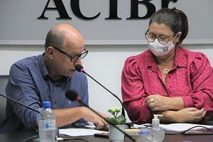 ACIBr media encontro sobre parcerias para o assistencialismo