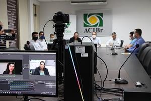 Fernando Pimentel participa de bate-papo virtual na ACIBr