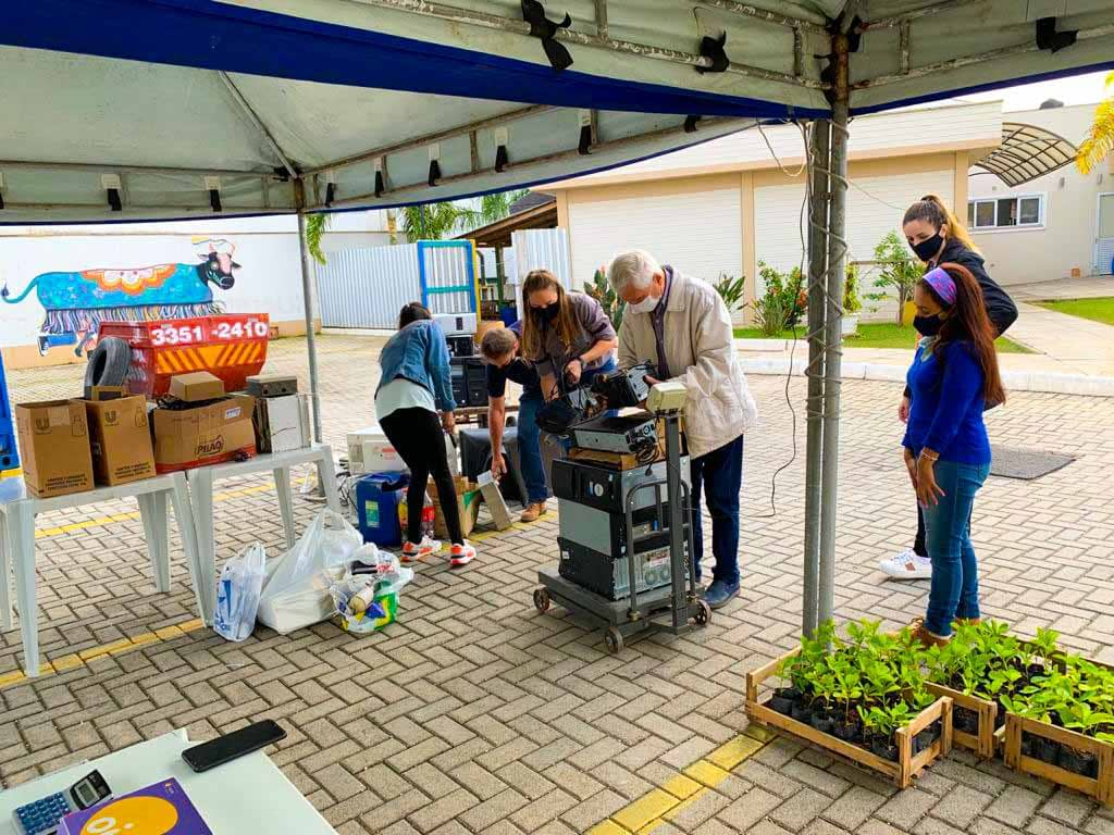 Núcleo de Gestão Ambiental da ACIBr comemora consciência ambiental da população