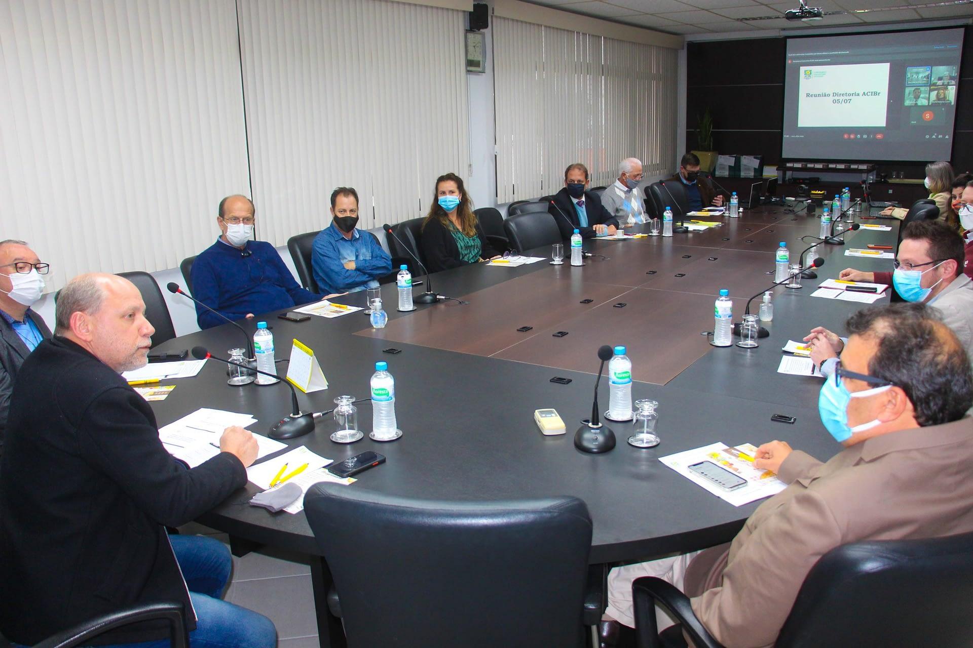 ACIBr reúne poder público e Comunidade Bethânia para tratar sobre parceria