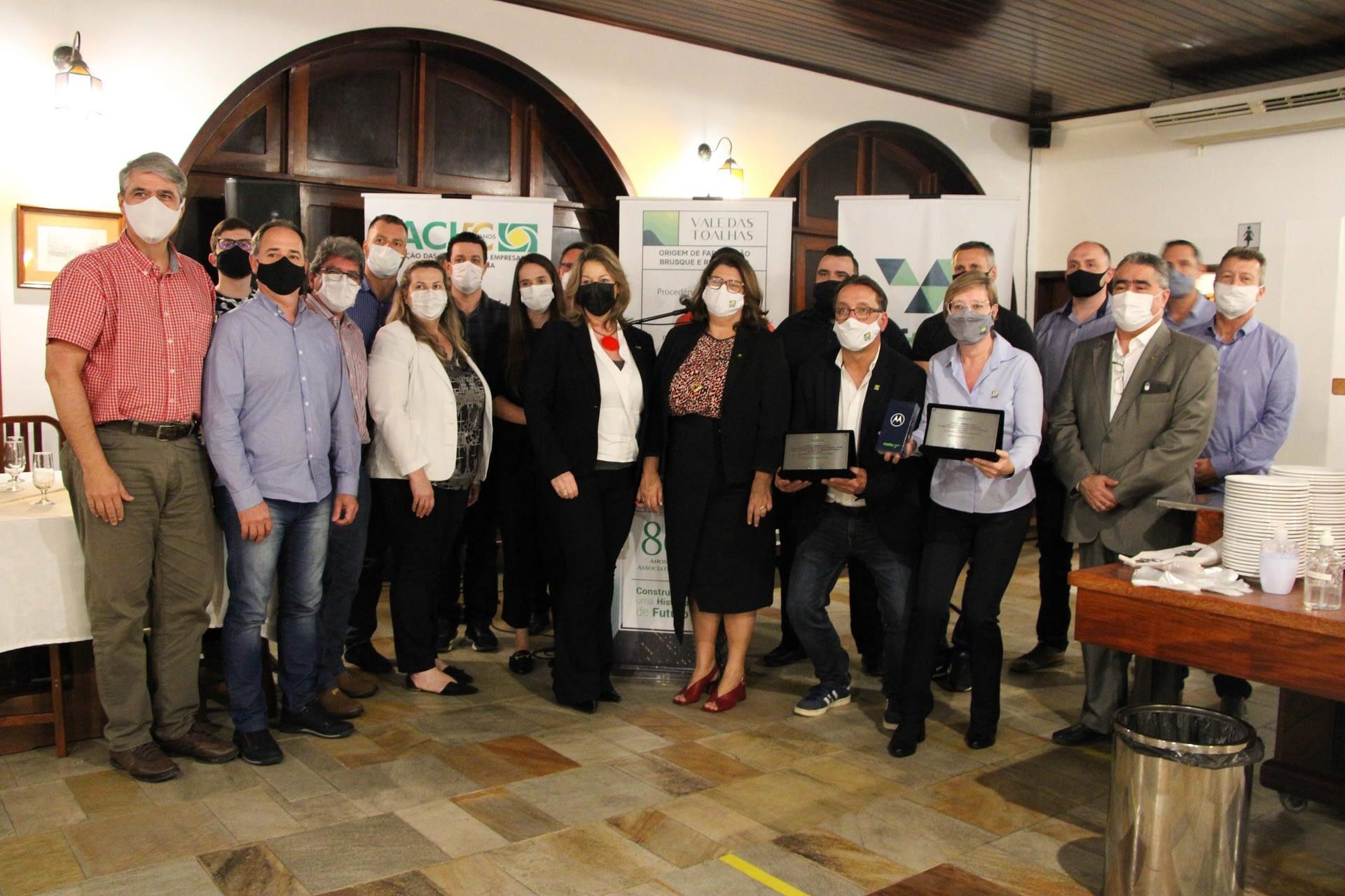 NFTEX recebe Prêmio Empreender 2021