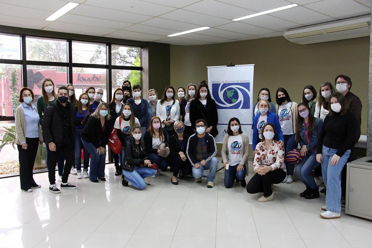 Núcleo de Escolas de Idiomas da ACIBr promove 12º Encontro Professores de Língua Inglesa