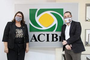 Cônsul da Argentina no Estado visita a ACIBr