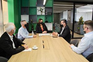 ACIBr recebe a visita do diretor de Ciência, Tecnologia e Inovação do Governo do Estado